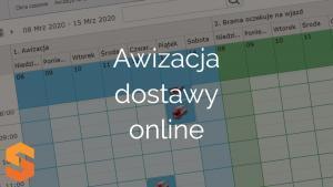 Awizacja dostawy online