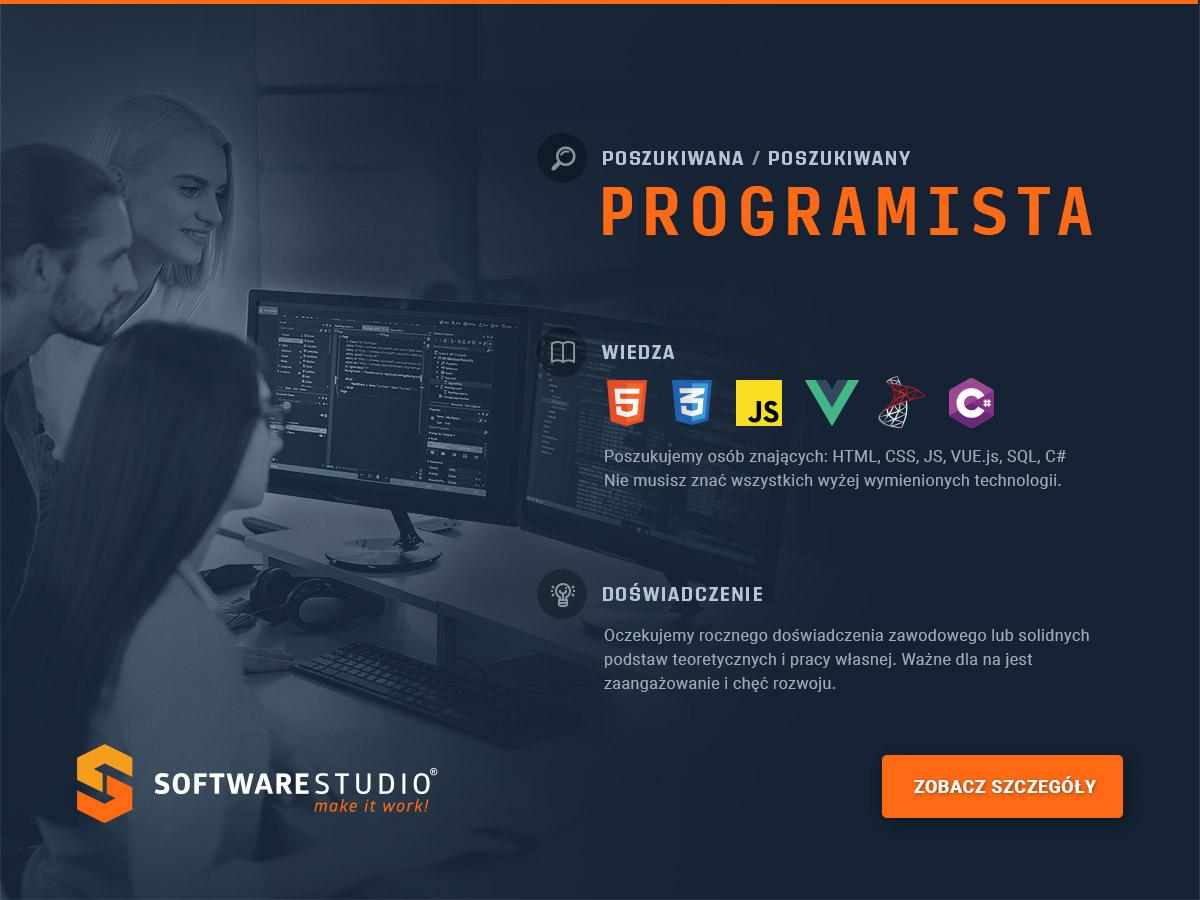 praca programista Poznań